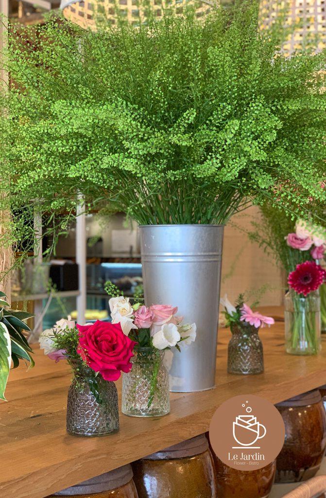 Blumen für Büro