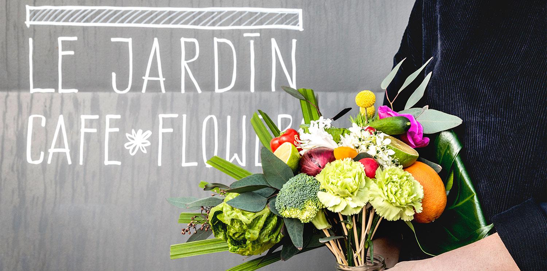 LE JARDIN CAFE FLOWER - Cafe Blumen in Hamburg