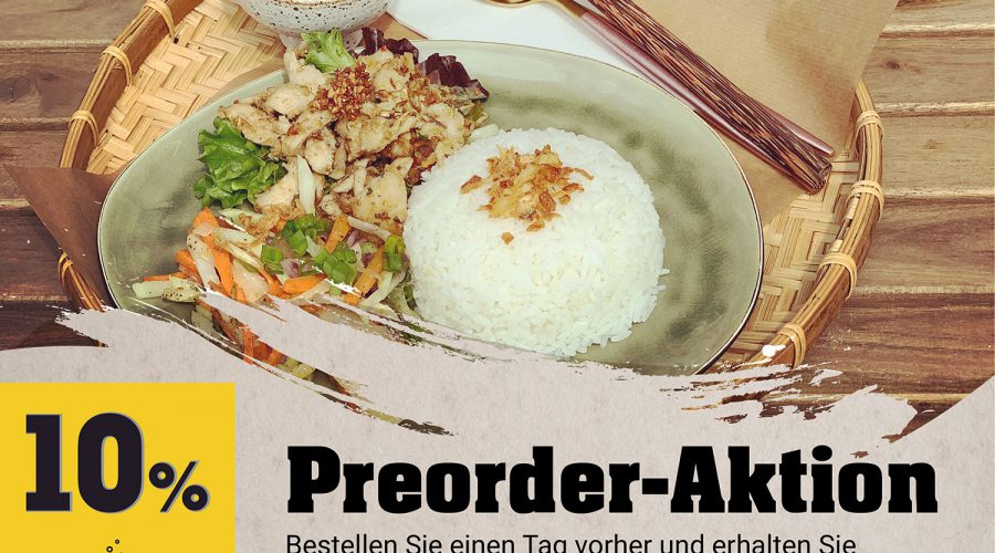 Preorder Aktion in 11/2019